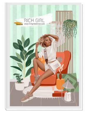JUST MY AWESOME SELF - дизайнерски RICH GIRL планер