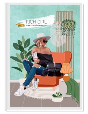 ON MY RADAR TODAY - дизайнерски RICH GIRL планер