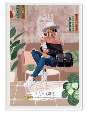 GIMME MY CROWN - дизайнерски RICH GIRL планер