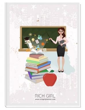 I AM A TEACHER 3 - ДИЗАЙНЕРСКИ ПЛАНЕР RICH GIRL ЗА УЧИТЕЛИ