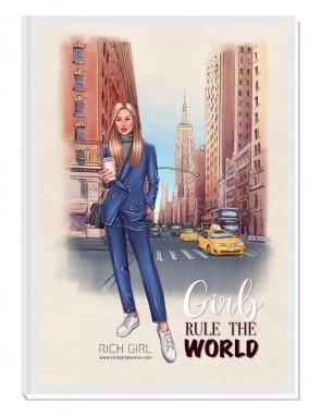 GIRLS RULE THE WORLD 3/ Blond Avatar - финансов RICH GIRL планер