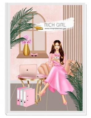 BE CLASSY NOW 1 - дизайнерски RICH GIRL планер