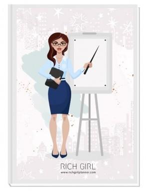 I AM A MANAGER 1 - ДИЗАЙНЕРСКИ ПЛАНЕР RICH GIRL ЗА МЕНИДЖЪРИ