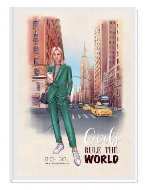 GIRLS RULE THE WORLD 4/ Blond Avatar - финансов RICH GIRL планер