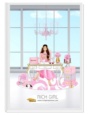 BE CLASSY 1 - дизайнерски RICH GIRL планер