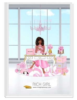 BE CLASSY 2 - дизайнерски RICH GIRL планер