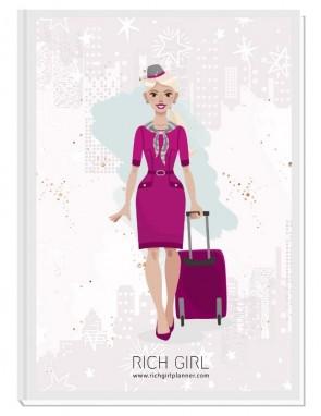 I AM A FLIGHT ATTENDANT - ДИЗАЙНЕРСКИ ПЛАНЕР RICH GIRL ЗА СТЮАРДЕСИ