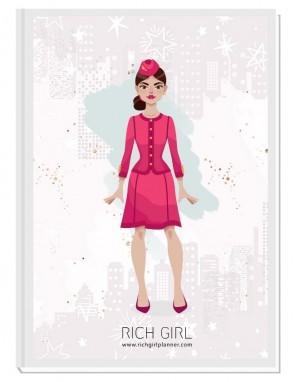 I AM A FLIGHT ATTENDANT 2 - ДИЗАЙНЕРСКИ ПЛАНЕР RICH GIRL ЗА СТЮАРДЕСИ