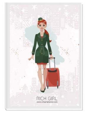 I AM A FLIGHT ATTENDANT 3 - ДИЗАЙНЕРСКИ ПЛАНЕР RICH GIRL ЗА СТЮАРДЕСИ