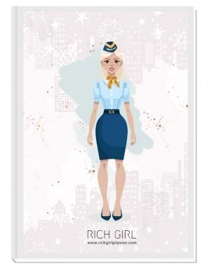 I AM A FLIGHT ATTENDANT 4 - ДИЗАЙНЕРСКИ ПЛАНЕР RICH GIRL ЗА СТЮАРДЕСИ