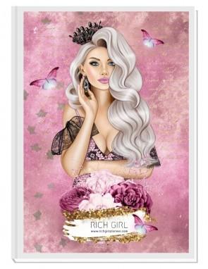 MY QUEEN 2 (blond) - дневен RICH GIRL планер