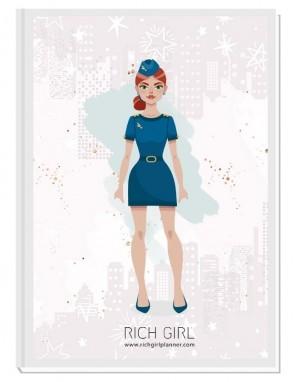 I AM A FLIGHT ATTENDANT 5 - ДИЗАЙНЕРСКИ ПЛАНЕР RICH GIRL ЗА СТЮАРДЕСИ
