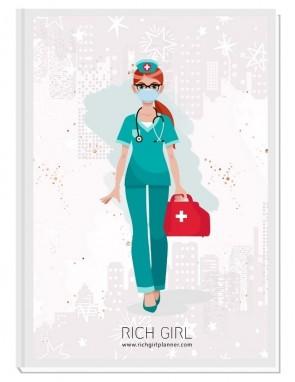 I AM A DOCTOR/NURSE - ДИЗАЙНЕРСКИ ПЛАНЕР RICH GIRL ЗА ЛЕКАРИ/МЕДИЦИНСКИ СЕСТРИ