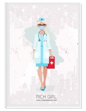 I AM A DOCTOR/NURSE 2 - ДИЗАЙНЕРСКИ ПЛАНЕР RICH GIRL ЗА ЛЕКАРИ/МЕДИЦИНСКИ СЕСТРИ