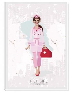 I AM A DOCTOR/NURSE 3 - ДИЗАЙНЕРСКИ ПЛАНЕР RICH GIRL ЗА ЛЕКАРИ/МЕДИЦИНСКИ СЕСТРИ
