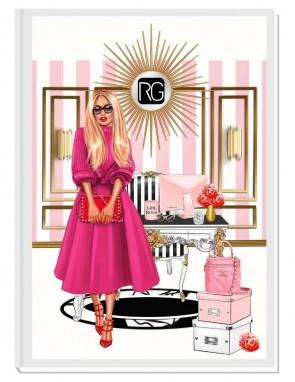 YOU GOT THIS (blond) - дизайнерски RICH GIRL планер, датиран за 2021 г.