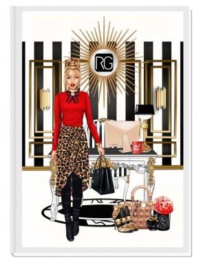 CEO OF MY LIFE (blond) - дизайнерски RICH GIRL планер, датиран за 2021 г.