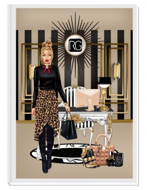 WIN AT LIFE TODAY (blond) - дизайнерски RICH GIRL планер, датиран за 2021 г.