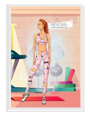MY BEST VERSION 1 (ginger) - фитнес планер за по-добра форма и самочувствие