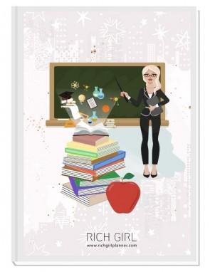 I AM A TEACHER 1 - ДИЗАЙНЕРСКИ ПЛАНЕР RICH GIRL ЗА УЧИТЕЛИ